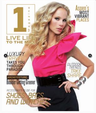 1 Magazine about edgy interior designer Andrea Schumacher