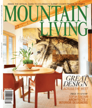 Mountain Living Top Interior Designers issue cover