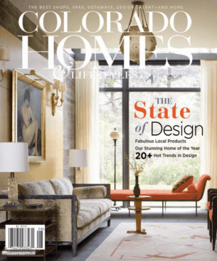 Colorado Homes & Lifestyles August 2012 cover