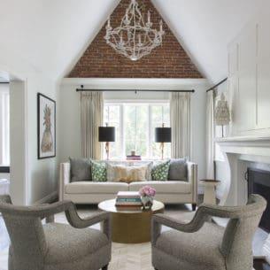 Stunning home decorating by Denver interior designer