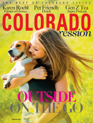 Colorado Expression June July 2020 cover