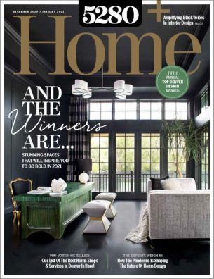 5280 Home Magazine Top Denver Design Issue Cover
