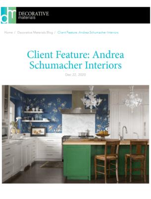 Decorative Materials Article About Andrea Schumacher Amazing Interior Design Style