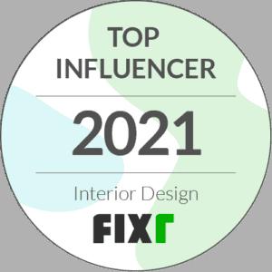 Fixr Top Interior Design Influencer Logo