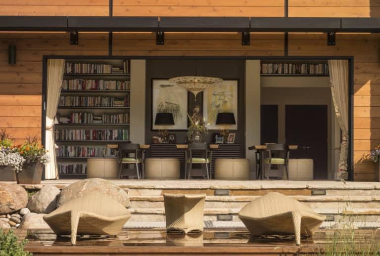 Luxury Home Indoor Outdoor Living Space