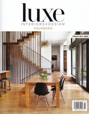 Luxe Interiors + Design 2021 Cover