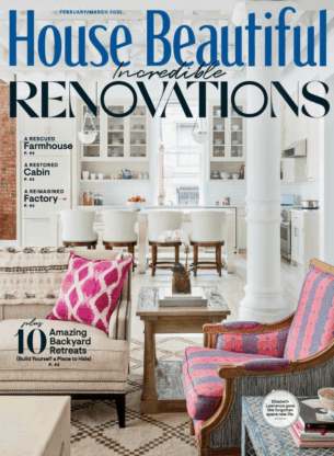 House Beautiful February March 2021 Cover