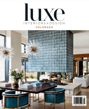 Luxe Interiors + Design Cover Image of Andrea Schumacher Project