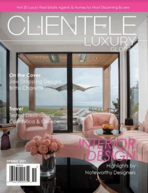 Clientele Luxury magazine cover Spring 2021