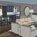 Boulder CO Ranch Home Remodel Concept Drawing