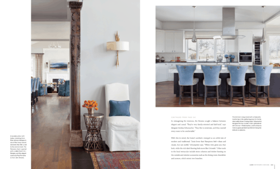Article about Boulder CO new construction interiors