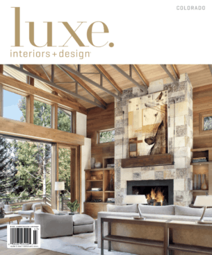 Luxe Interiors Summer 2014 Cover