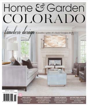 Home Garden Colorado Timeless Design cover