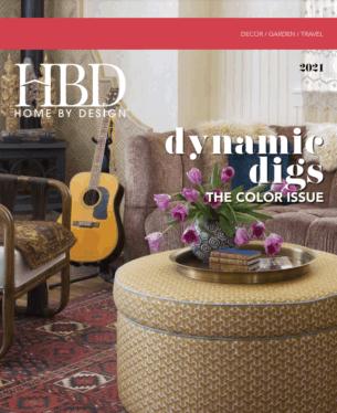 Home By Design The Color Issue - Cover Page Andrea Schumacher Denver Interior Designer