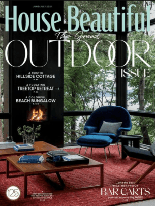 House Beautiful July 2021 Cover